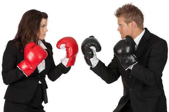 casal em conflito